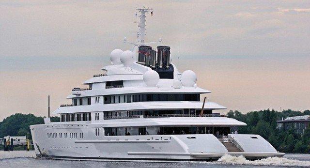 gli yacht più grandi del mondo