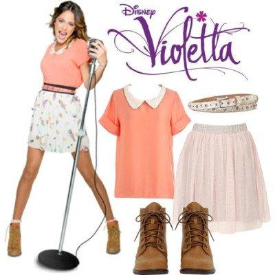 Costume di Carnevale di Violetta