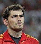 Portiere Iker Casillas