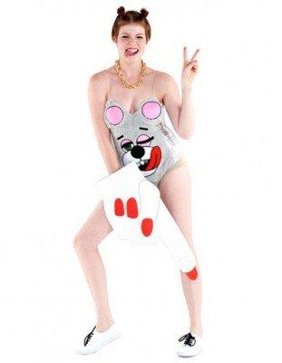 Miley Cyrus vestito carnevale donna