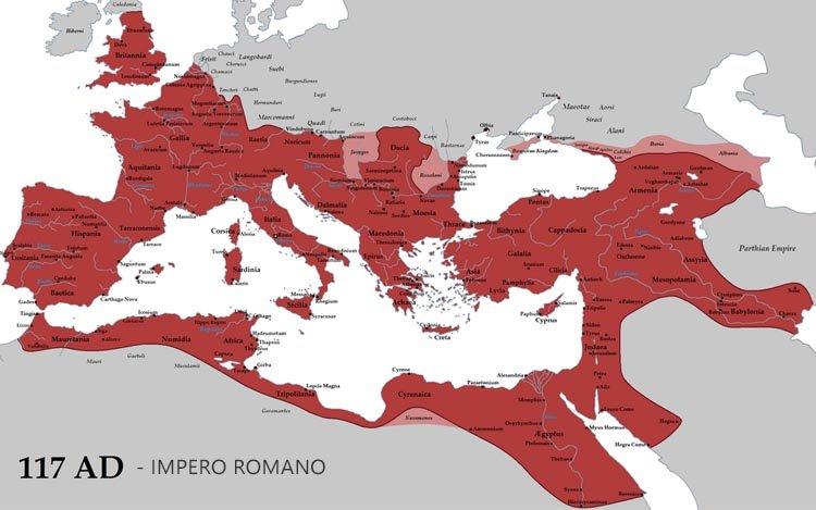 gli imperi più grandi della storia