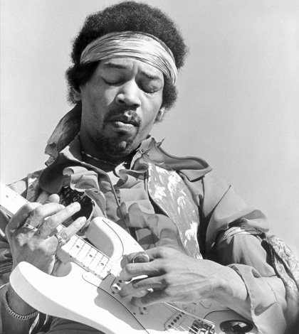 Hendrix - miglior chitarrista di sempre