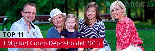 Il migliore conto deposito in Italia