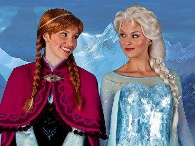 Costume di Carnevale di Frozen