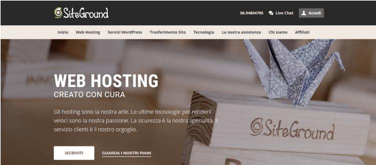 homepage siteground