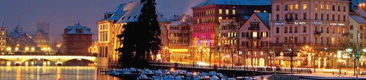 Mercato di Natale a Zurigo