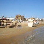 Spiaggia a Pozzallo (Sicilia)
